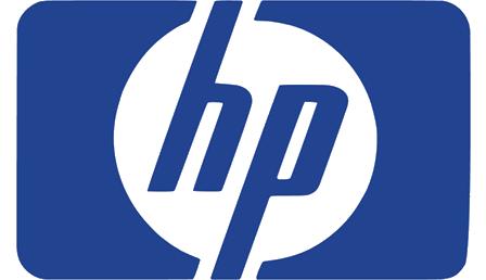 Logo de notre partenaire, Hp, grande marque d'informatique avec laquelle nous travaillons